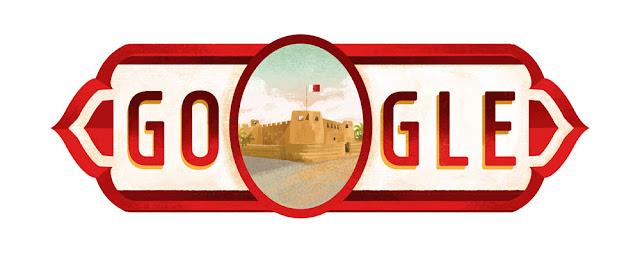 Bahrain National Day 2016: Google Doodle