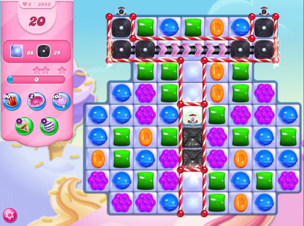 Candy Crush Saga level 3983