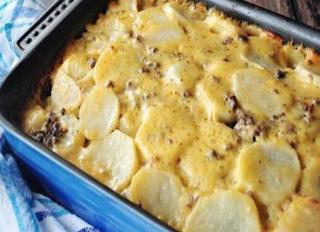 Hamburger Cheesy Potato Casserole