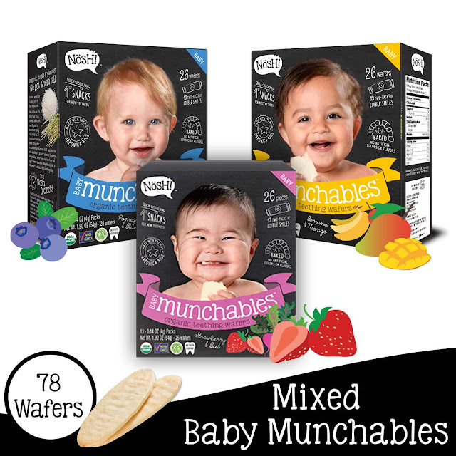 Nosh Munchables: Healthy Organic Snacks for Babies and Toddlers