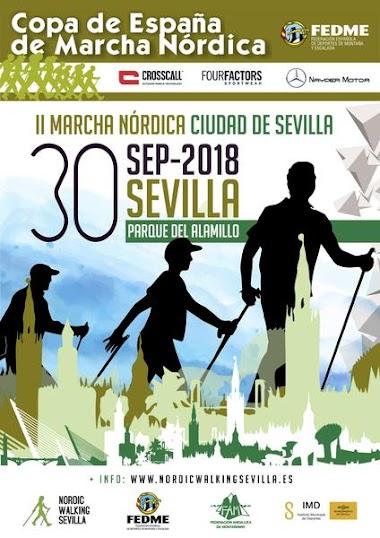 II MARCHA NÓRDICA CIUDAD DE SEVILLA 2018