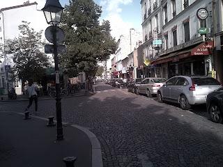 Place principale. Buttes-aux-Cailles.