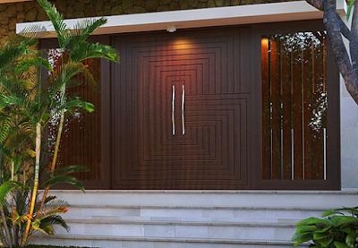 model pintu minimalis modern mewah