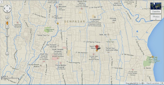 Bajra Sandhi Denpasar Bali Location Map,Location Map of Bajra Sandhi Denpasar Bali,Bajra Sandhi Monument Denpasar Bali accommodation destinations attractions hotels map reviews photos pictures