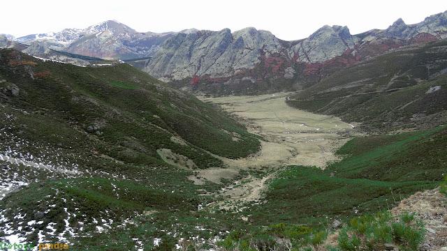 Vistas hacia la Vega del Naranco
