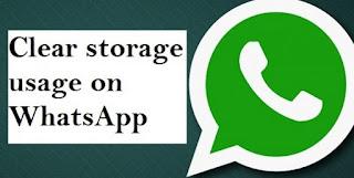 Cara bersih-bersih WhatsApp Agar Ponsel jadi Cepat