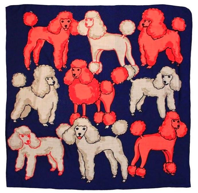 karen mabon poodle scarf