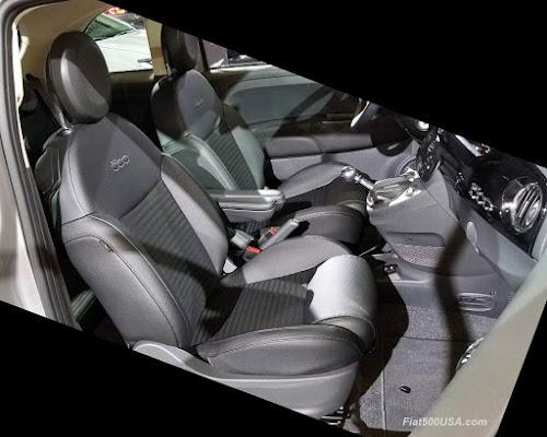 Fiat 500 Urbana seats