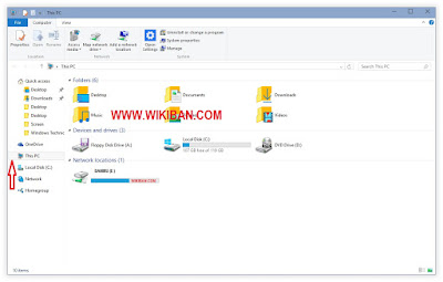 How to Set Windows 10 File Explorer to Open with This PC or My Compuuter