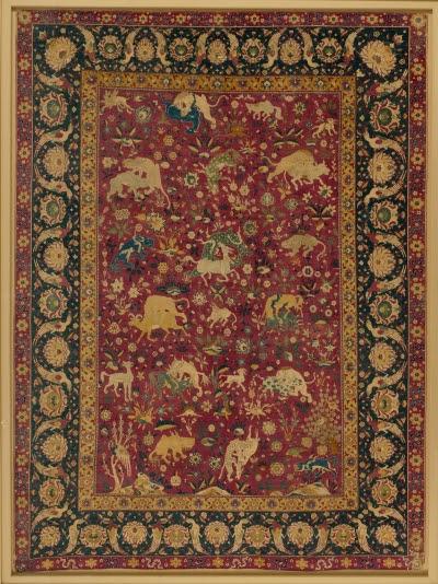 Animal Carpets Silk Animal Carpet