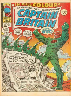 Marvel UK, Captain Britain #19, Red Skull