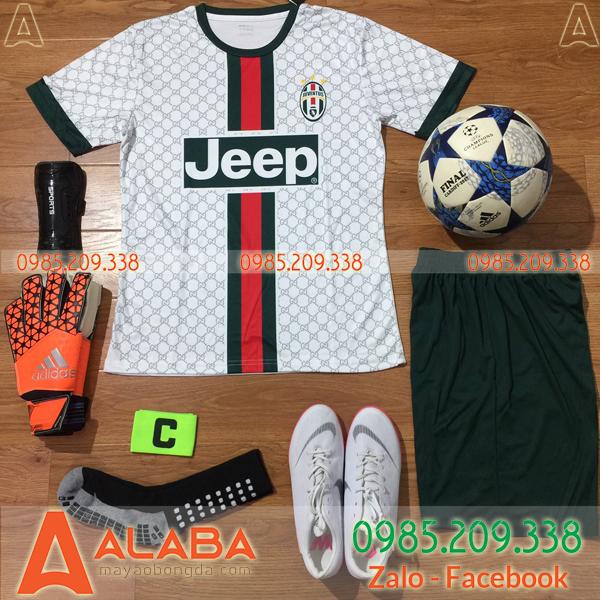Áo CLB Juventus 2019 Training Màu Trắng