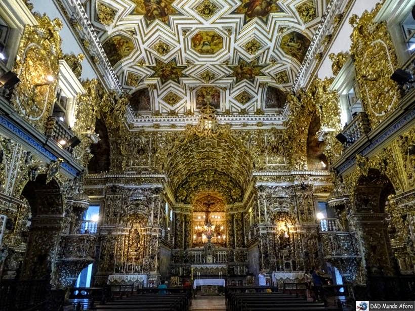 O que fazer em Salvador (Bahia) - Igreja e Convento de São Francisco