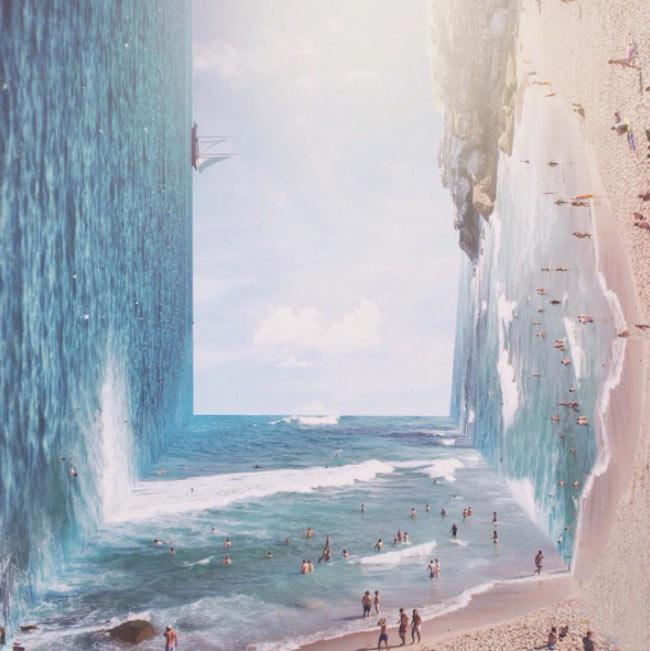 Alucinantes paisajes surrealistas de Jati Pratama Putra