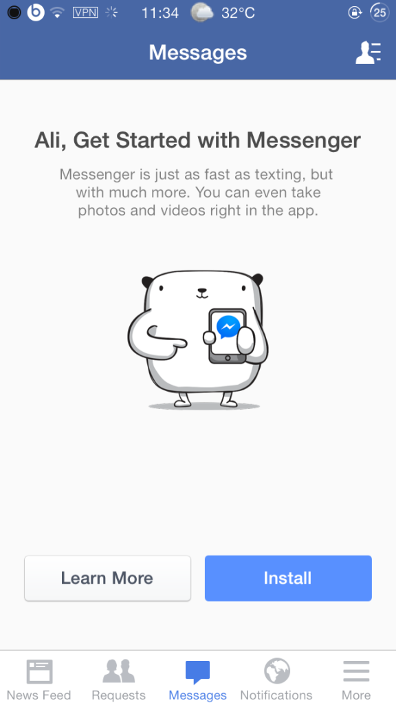 how to get deleted messages on facebook messenger