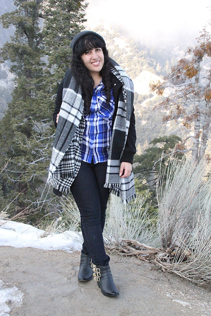 Express, Madewell and Loeffler Randall Mountain Cabin Outfit Inspiration