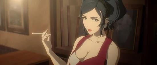 Miyuki Sawashiro sebagai Madam, Pemilik bar Melos tempat si protagonis bekerja.