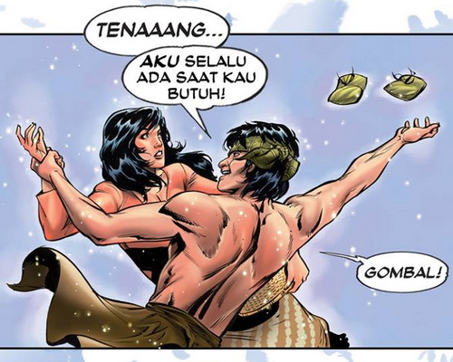 Tinuku.com Bumi Langit Comics launches classic superhero into digital world