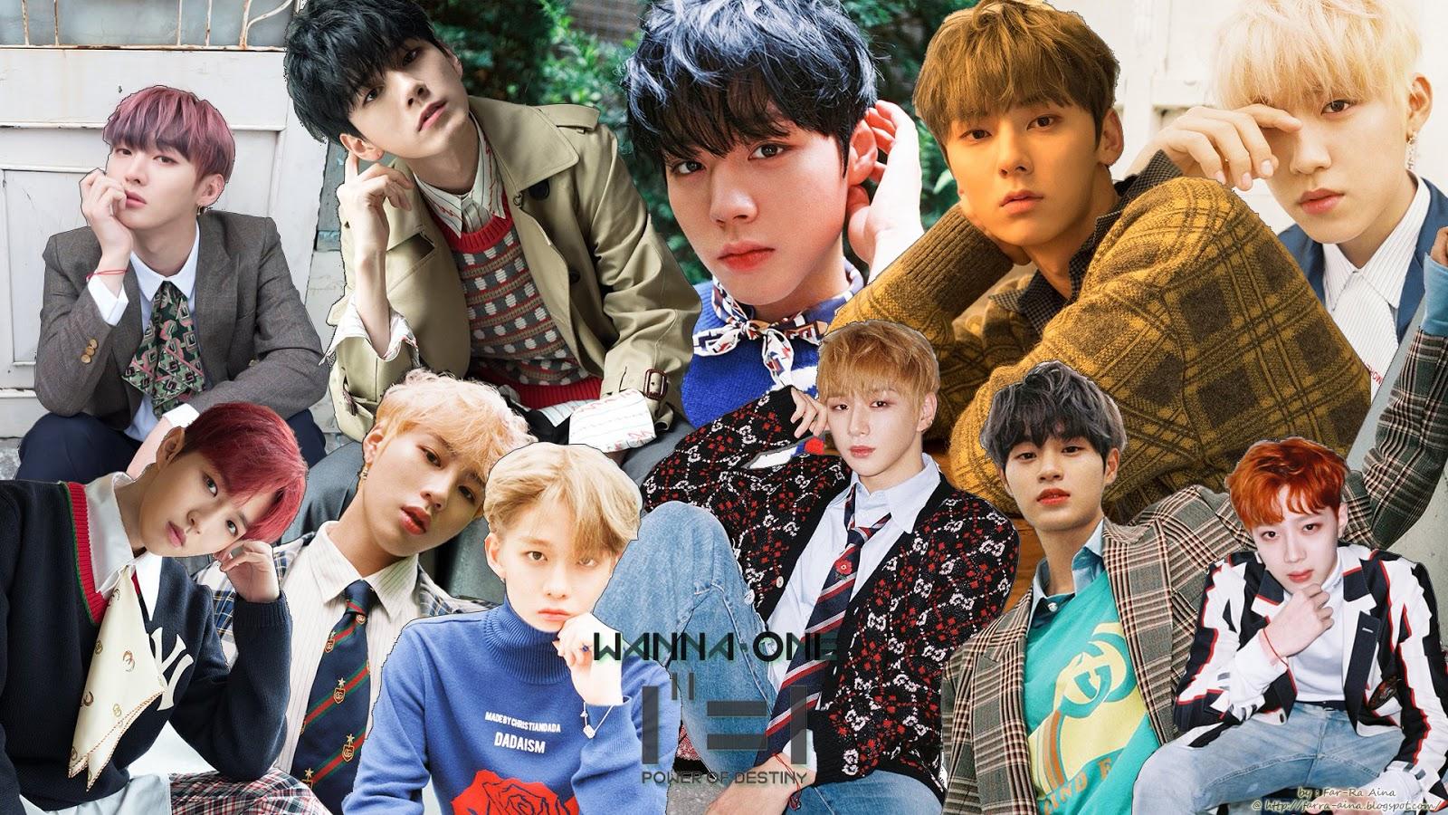 K Pop Lover Wanna One 1 1 Power Of Destiny Wallpaper