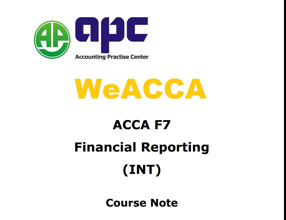 ACCA / ACA Study Guides | Free Notes & Course Material ...