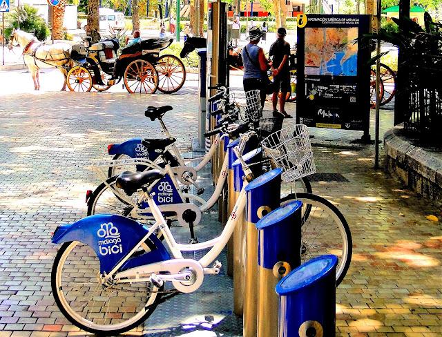 Parking spot Malaga Bici
