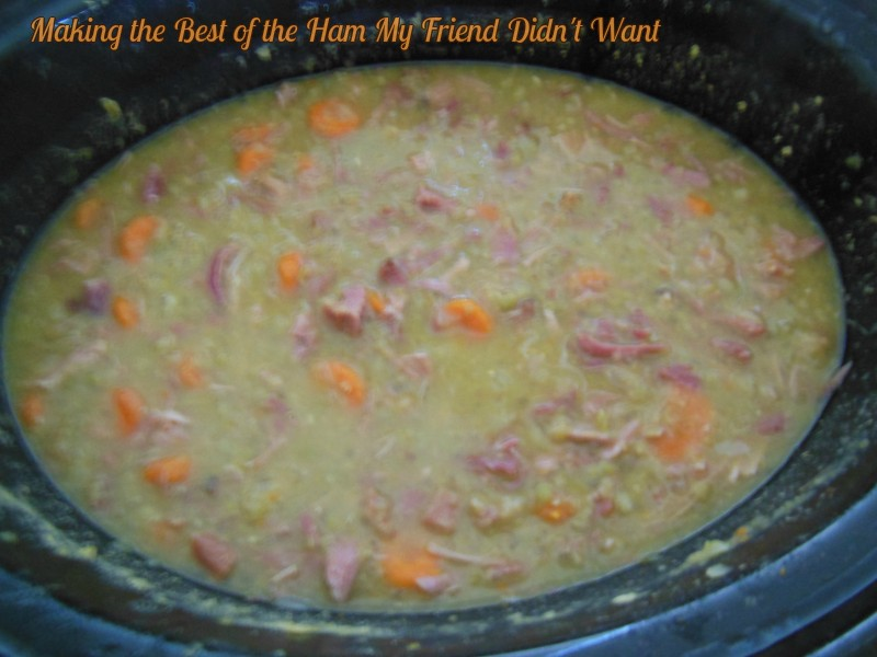 A Pot of Split Pea Soup to See the New Year In