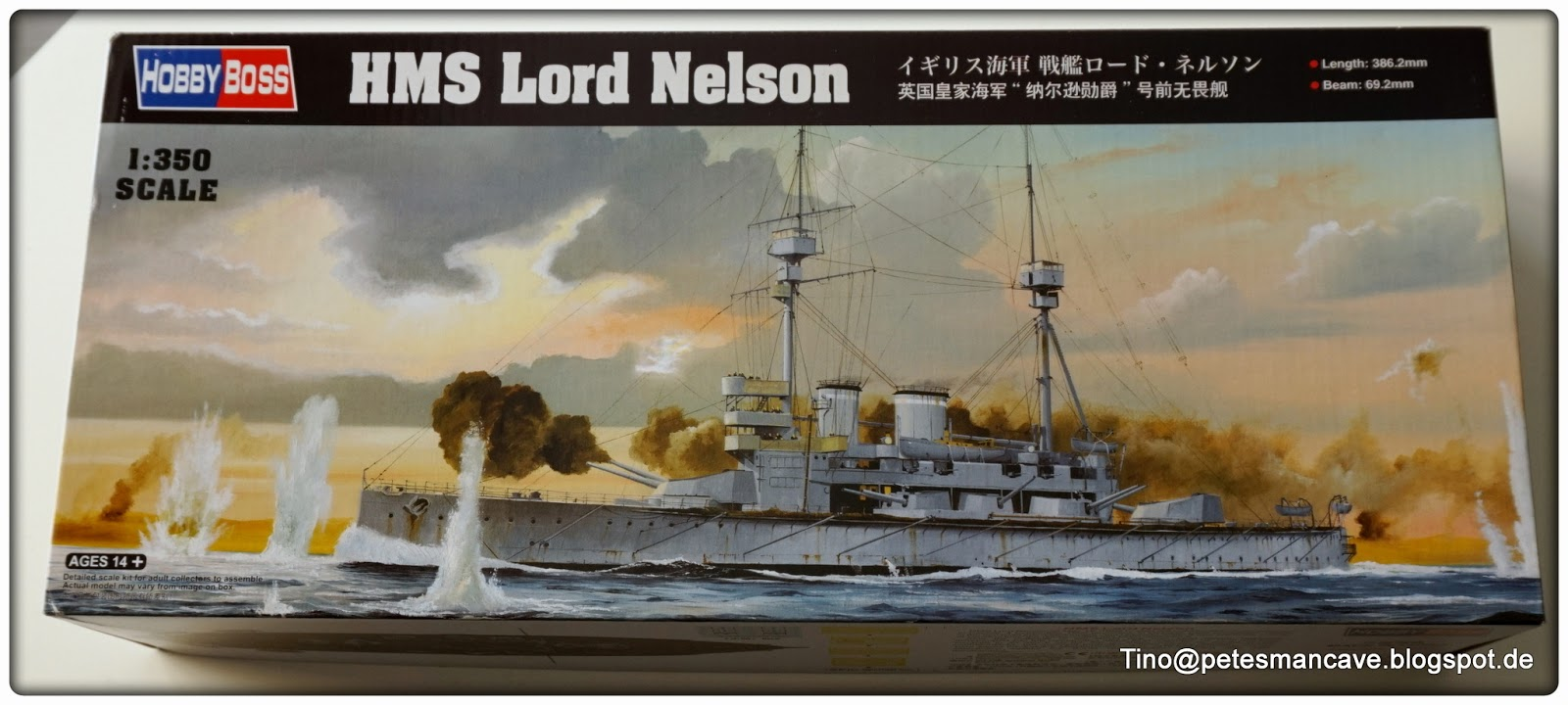Man Cave Nelson : Pete´s man cave hobby boss hms lord nelson
