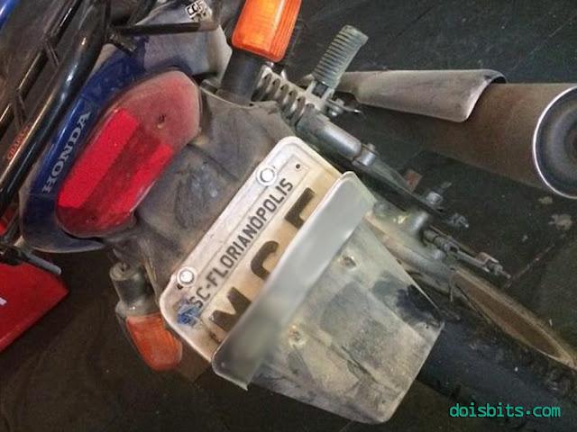 Meu acidente de moto cg