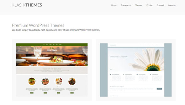 Free Download KlasikThemes - Premium Themes Pack For Wordpress