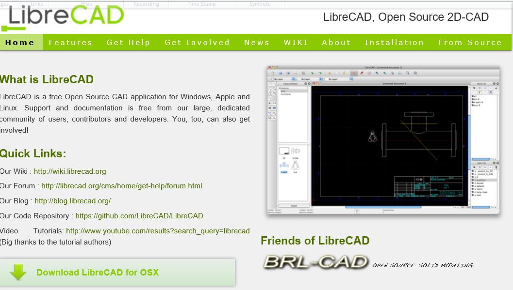 Download librecad aplikasi gratis autocad for Librecad templates download