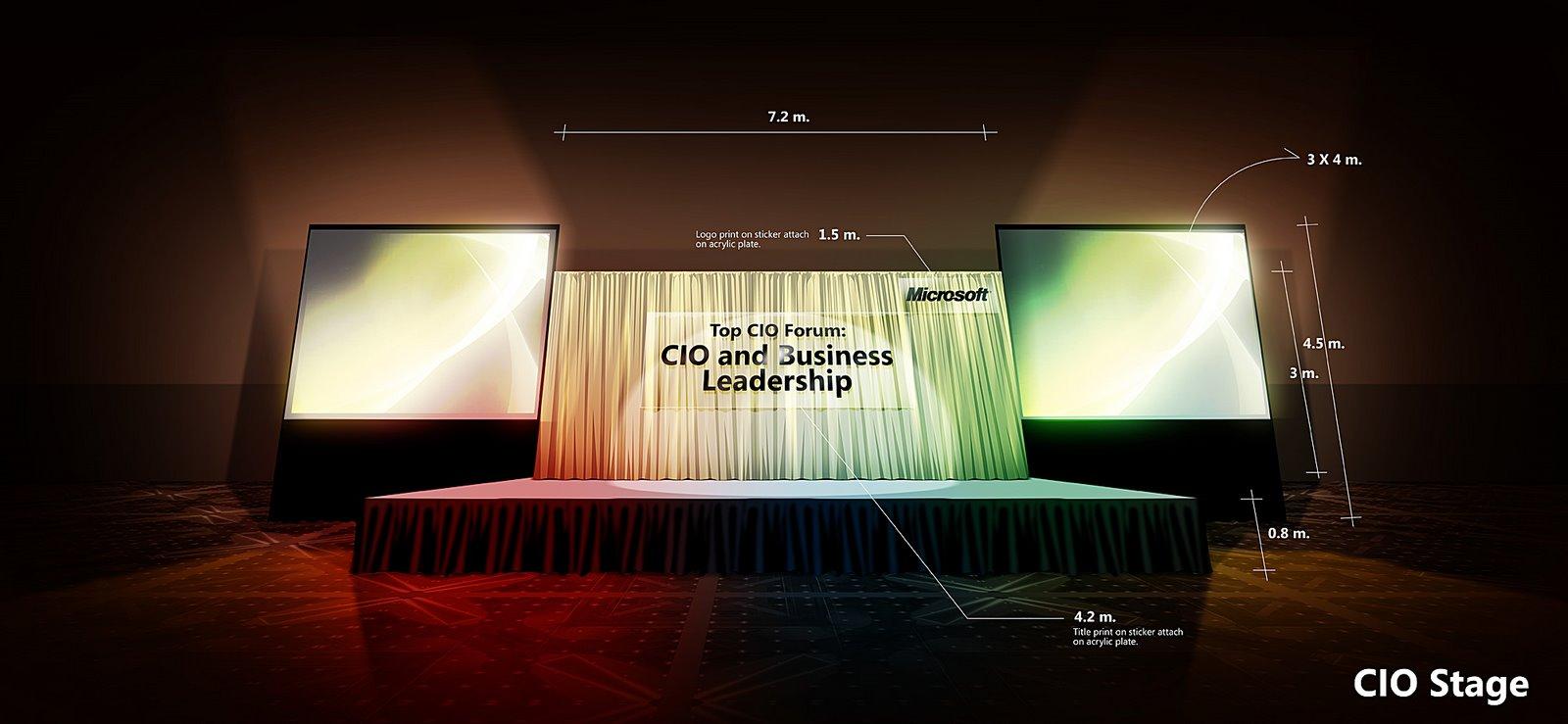 Stage Design : Microsoft CIO Seminar   Neutralart Graphic ...