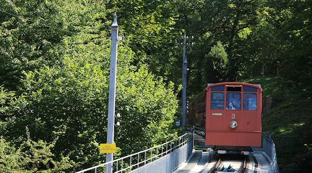 Funicular, Königstuhl, Heidelberg