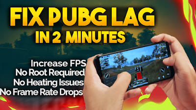 How To FIX LAG IN PUBG Mobile