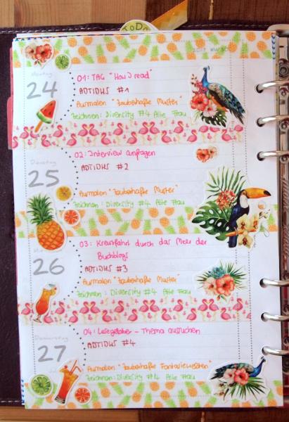 Plan with me: Mein Wochenplan Woche 30 2017