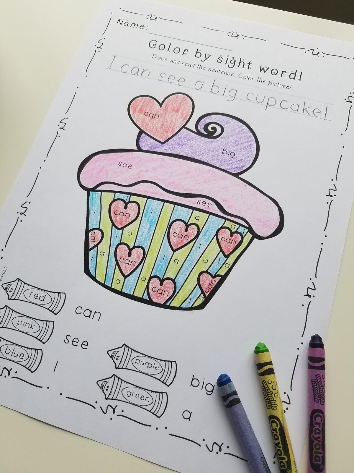 Valentine S Worksheet Word Family Kindergarten