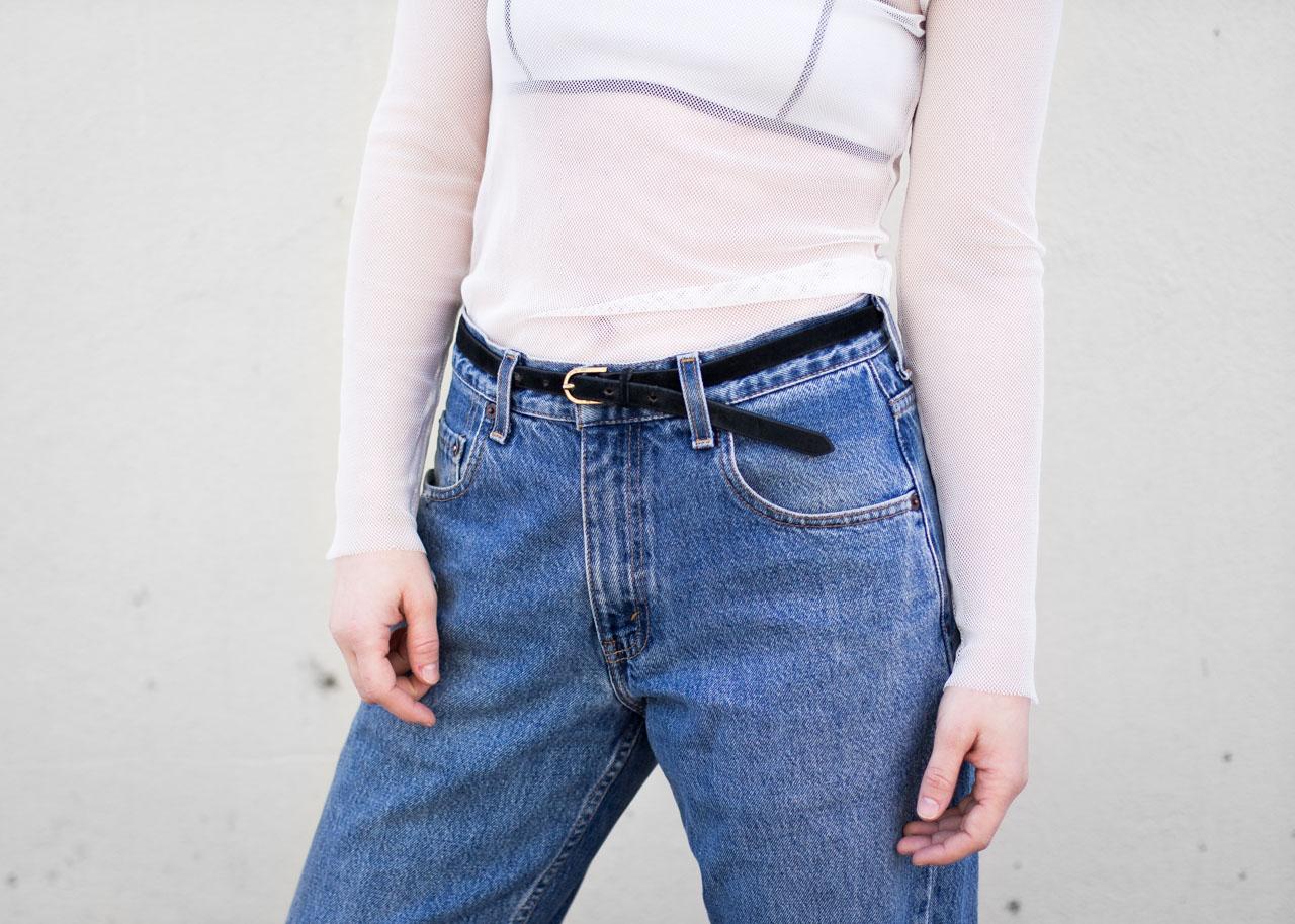 Minimal style outfit - Vancouver Fashion Blog - Oak & Fort - Vintage Levi's