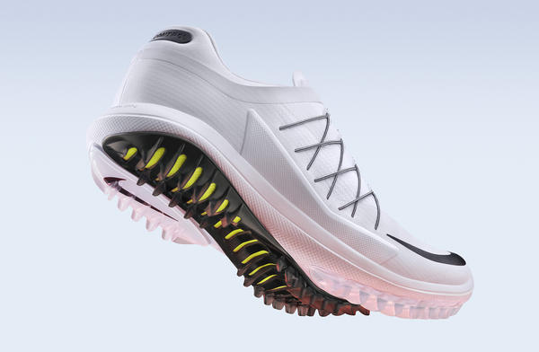 """7a3e9dc8427c """"Nike Articulated Integrated Traction s geometry provides great traction on  any surface and disperses stud pressure. Not having to place receptacles on  the ..."""