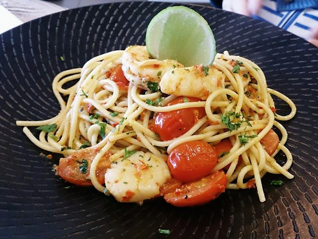 Curator 23, seafood pasta