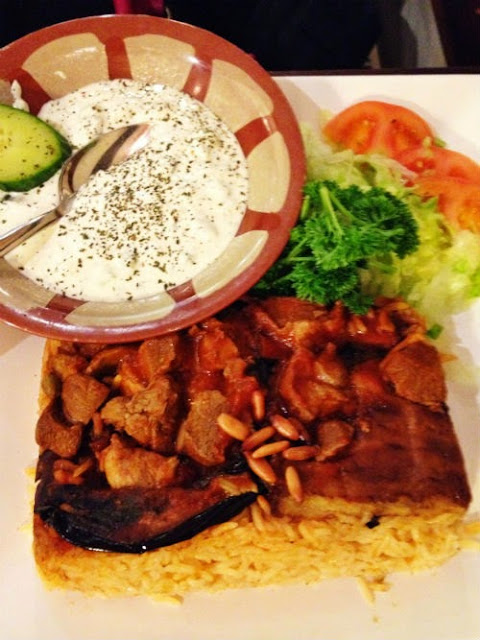 Syrian Food at Abu Zaad