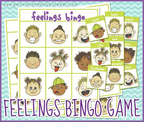Juego de educación emocional: identificar emociones