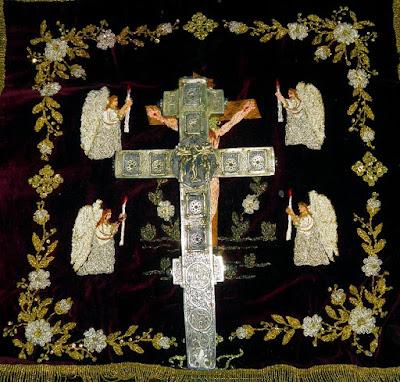 Σταυρός ευλογίας δωρεά του Αυτοκράτορος  Νικηφόρου Φωκά προς των Άγιο Αθανάσιο των Αθωνίτη