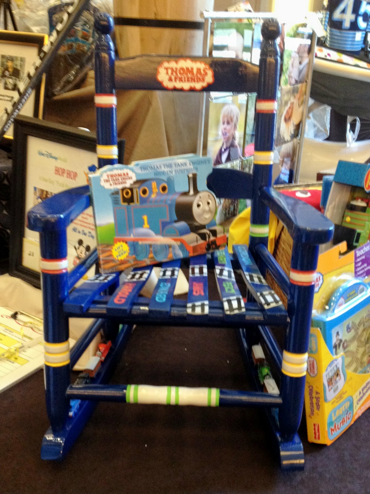 Thomas Train Chair Office Furniture Conference Table And Chairs Larissa Hill Designs Painting For Charity The Tank
