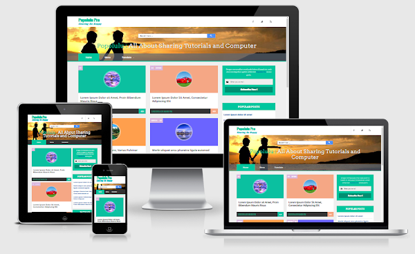 Free Download Template Popolulu Responsive Pro