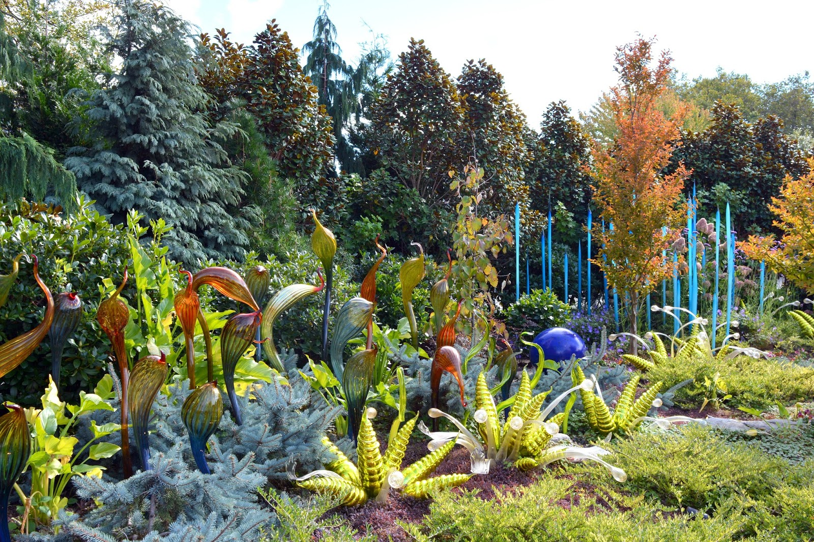 Mille Fiori Favoriti Chihuly Garden And Glass Seattle
