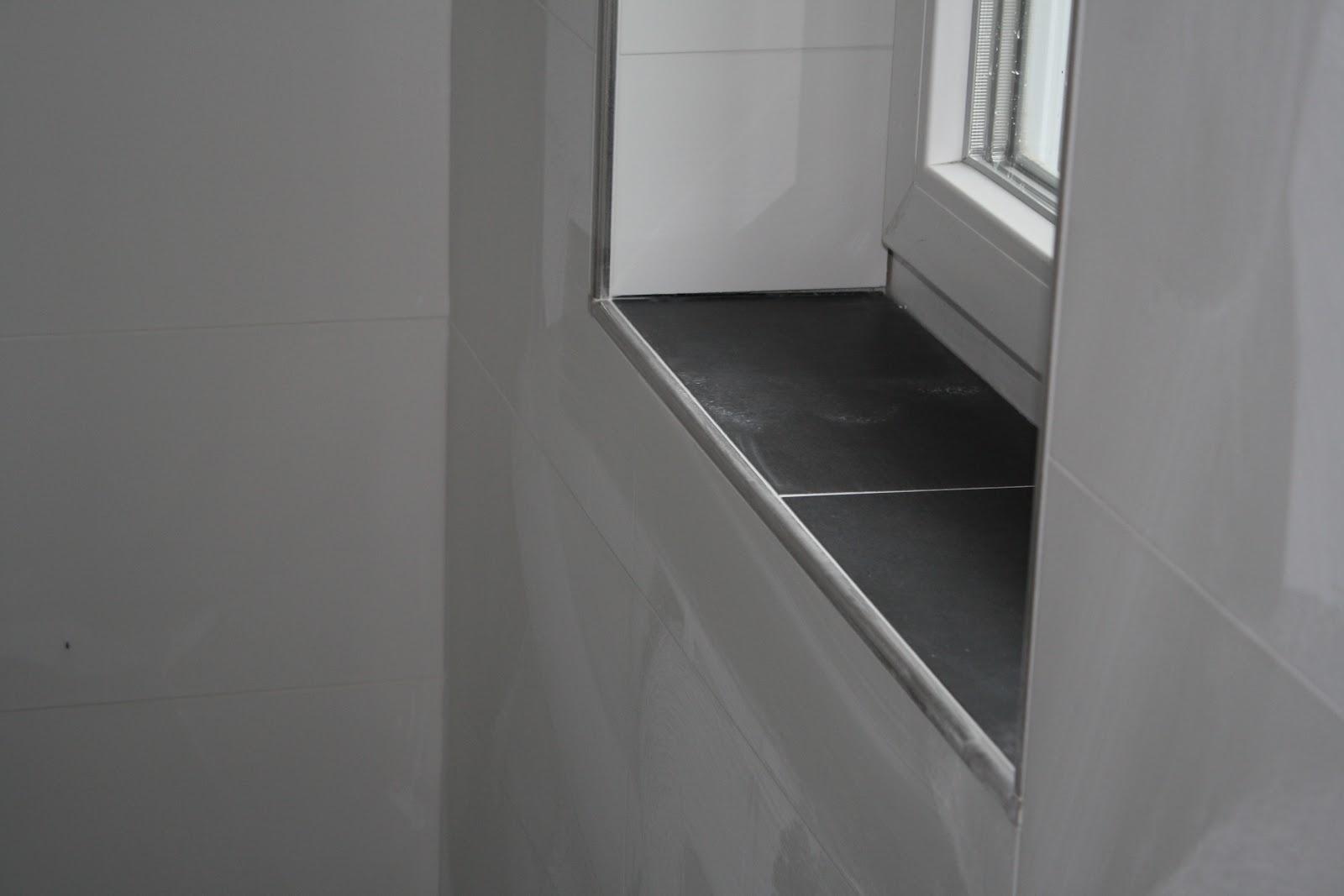 Fensterbank Fliesen