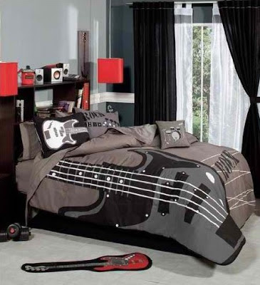 Bedroom Decor Ideas And Designs Rock N Roll Bedroom