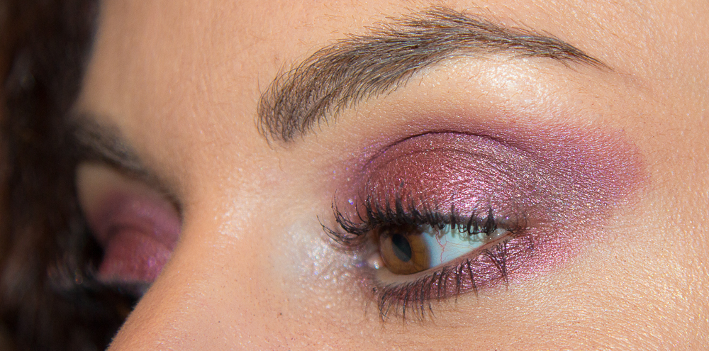 maquillage - yeux - rose