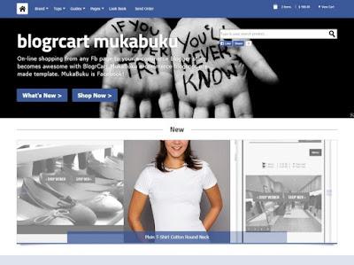 Blogrcart con diseño Facebook blogger 2018 2019 2020