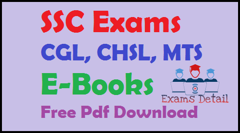 SSC Exams CGL, CHSL, MTS E-Books Free Pdf Download, SSC Exams CGL, CHSL, MTS E-Books Free Pdf Download for all competitive exams RRB Loco Pilot Group D, RPF, RRB JE (Junior Engineer) And Section Engineering Exams, IBPS, SSS CGL, MTS, CHSL, SBI PO Mathematics Notes And E-books For banks, technical, nontechnical Centre and state government exams.