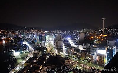 南韓釜山 Lotte百貨天空花園